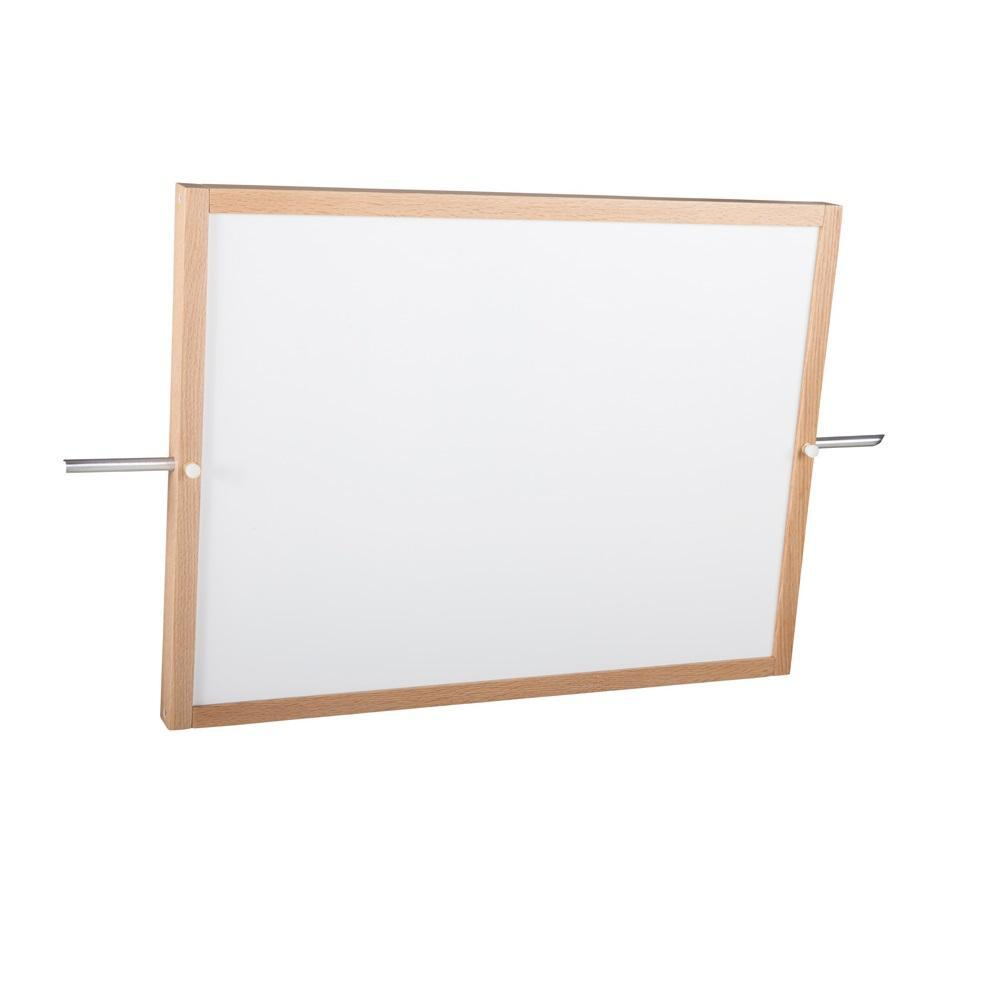 Mirror/Markerboard for Mobile Demonstration Units