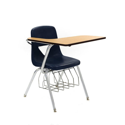 "420 Series Chair Desk, 17-1/2"" Seat Height, High-Pressure Laminate Top, with Bookrack"