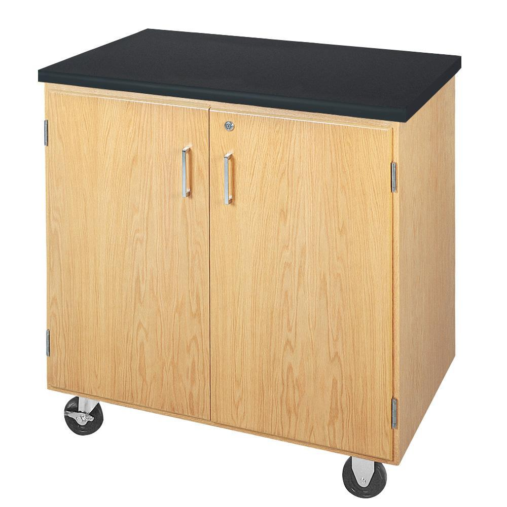 Mobile Storage Cabinet with ChemGuard Top