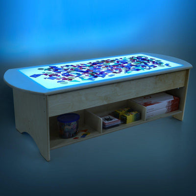 "48"" Brilliant Light Table with Storage-Pre-School Furniture-"