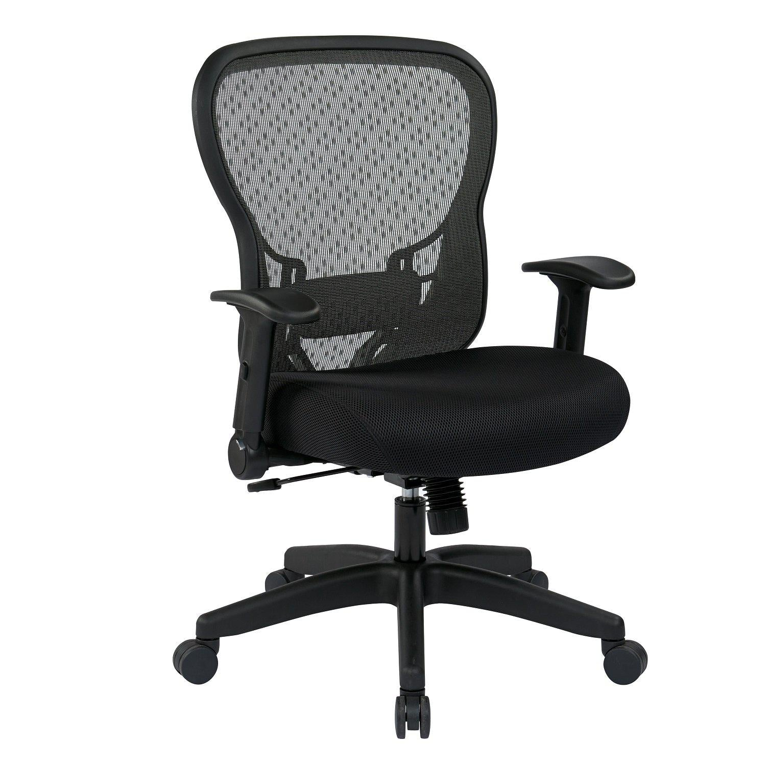 Deluxe R2 SpaceGrid Back Chair with Memory Foam Mesh Seat