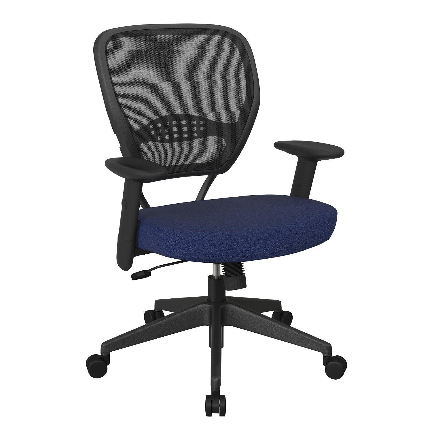 Professional AirGrid® Mesh Back Manager's Chair with Fabric Seat