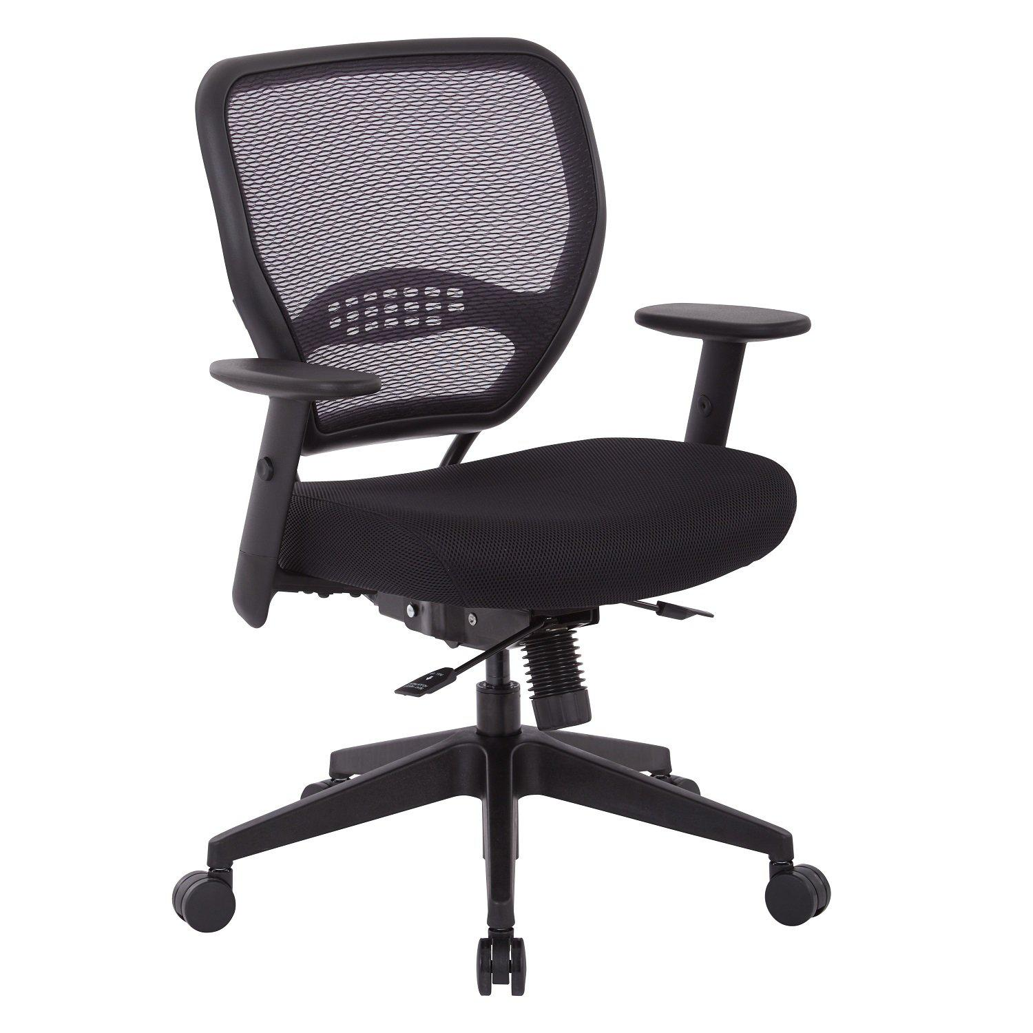 Air Grid® Back Manager's Chair with Black mesh Seat