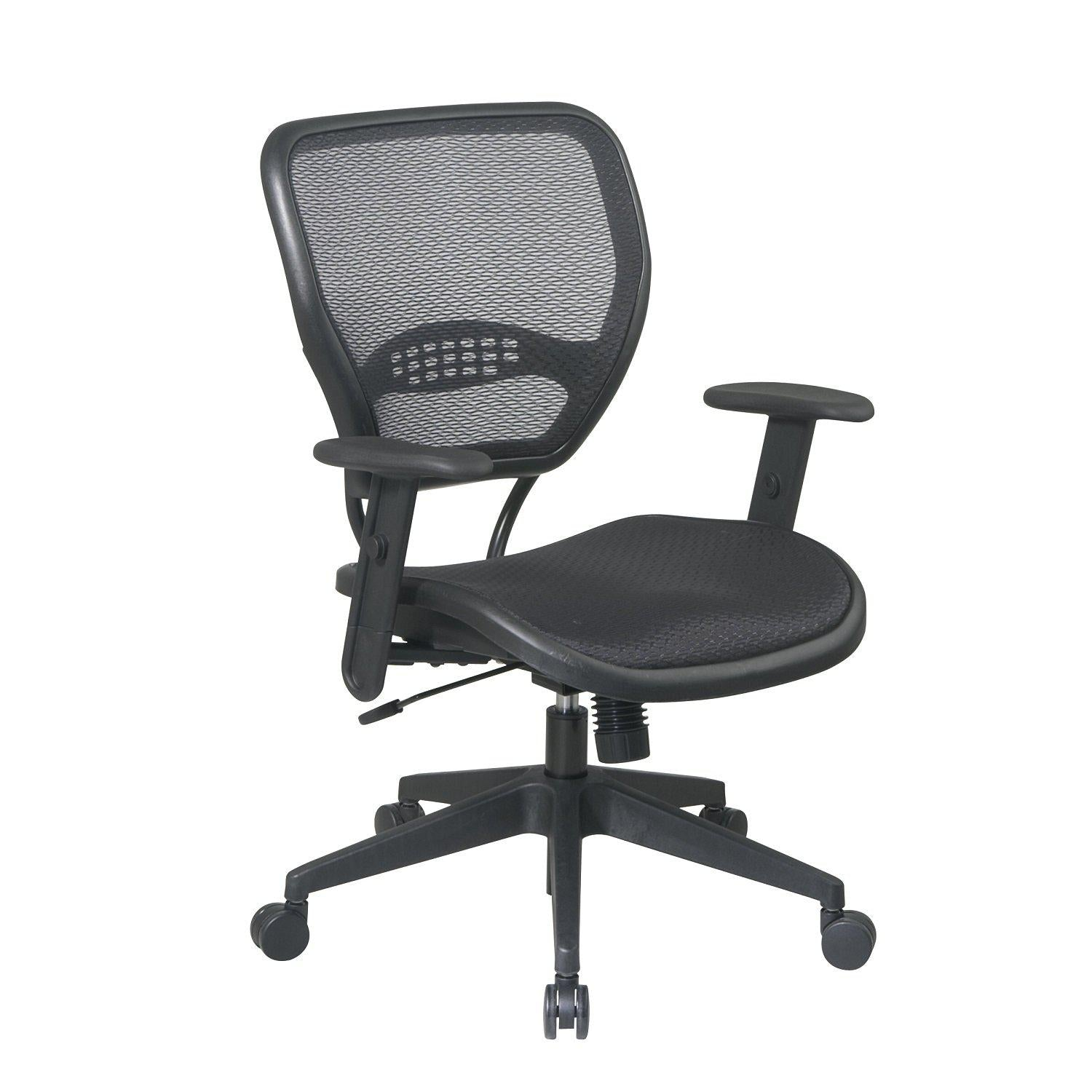 Black AirGrid® Seat and Back Deluxe Task Chair