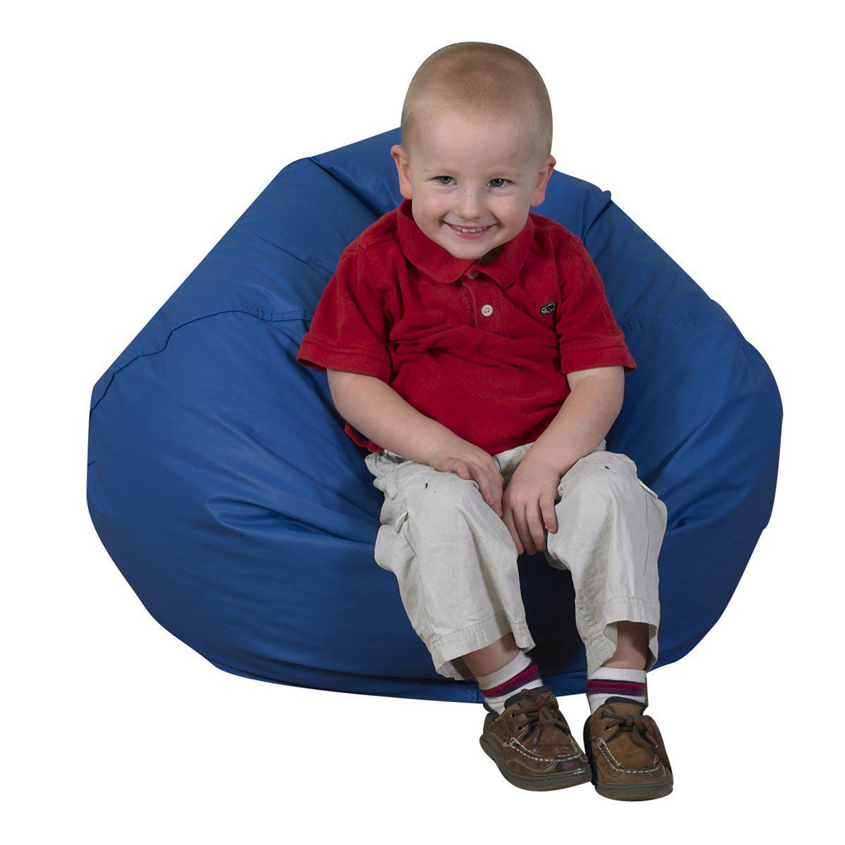 Round Bean-Filled Bean Bag Chairs