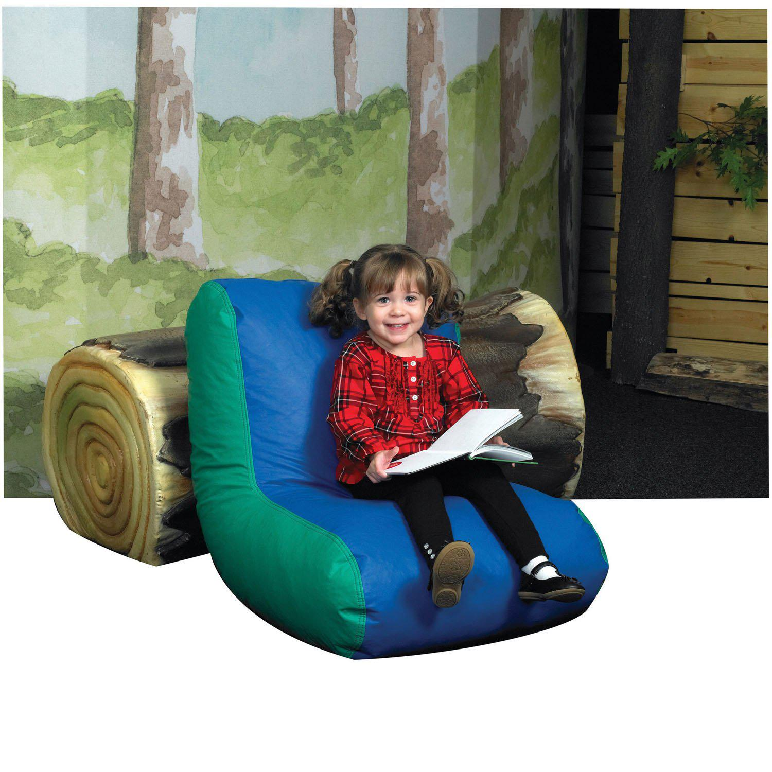 Preschool High Back Lounger