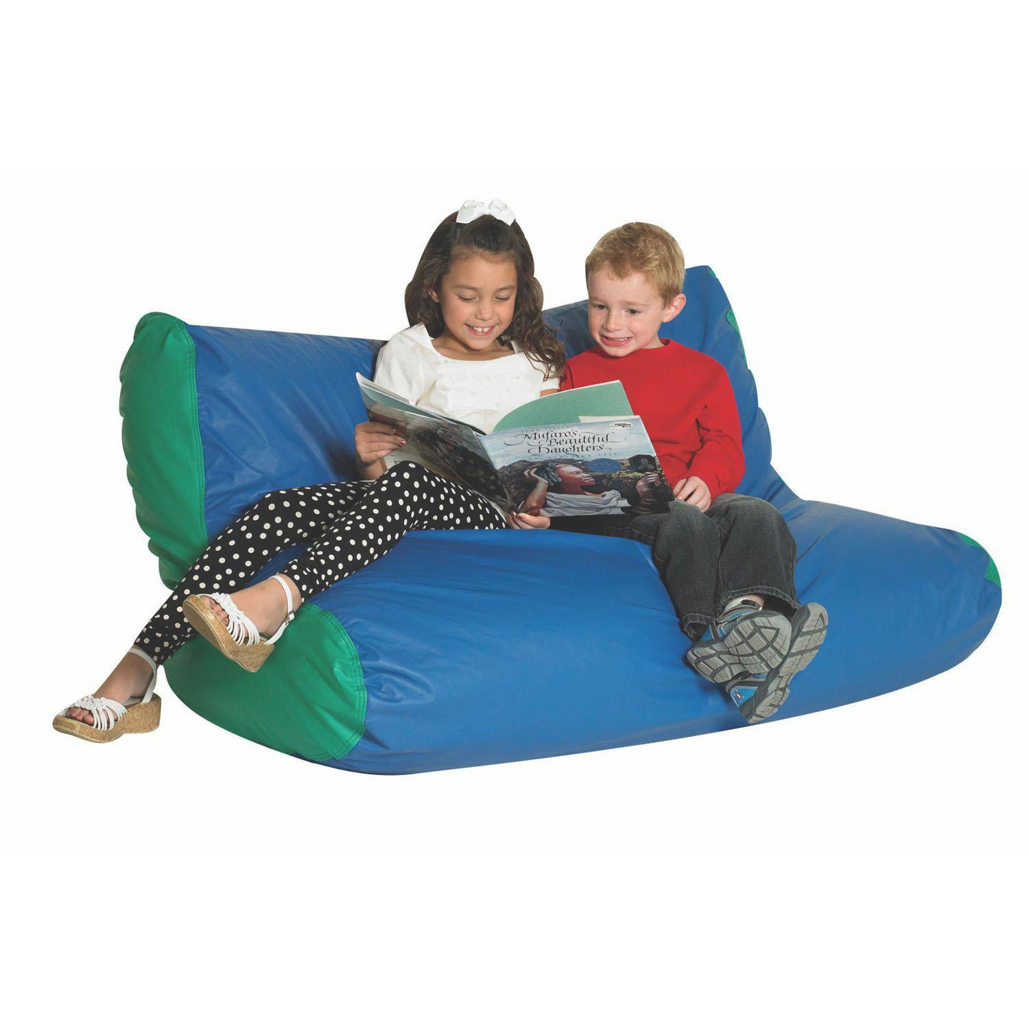 School Age Double High Back Lounger