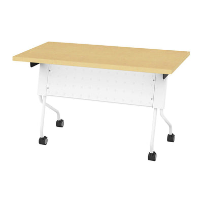 "Folding/Nesting Mobile Training Tables, Rectangular, 48"" x 24"" x 29.5"" H"