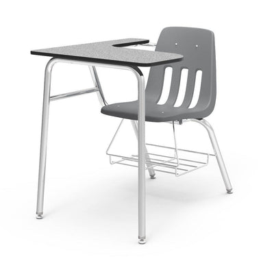 "9000 Series Combo Unit with 15"" x 24"" x 30"" Top-Desks-Graphite-Grey Nebula-"