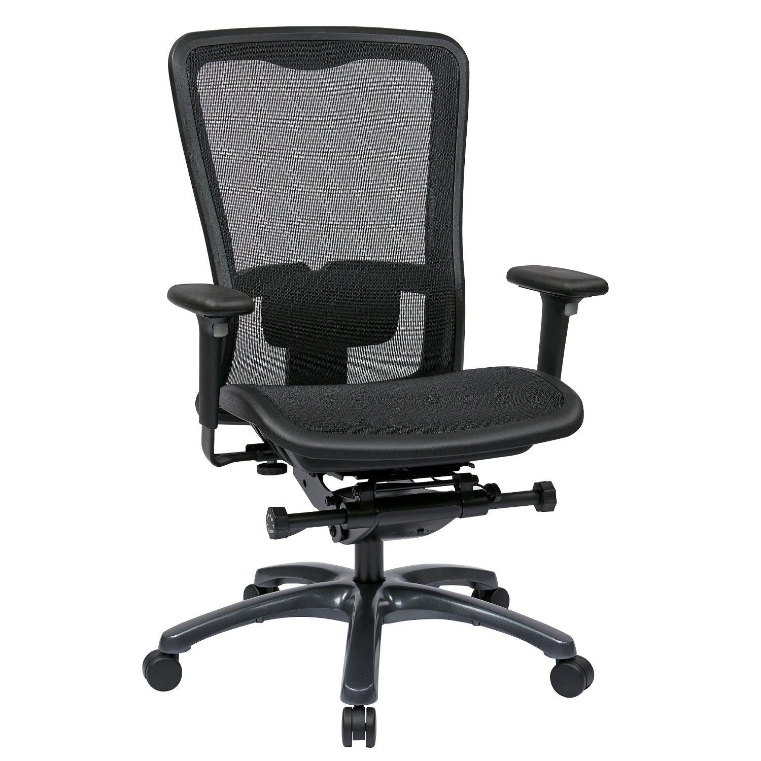 ProGrid Mesh High Back Chair with 3-Way Adjustable Arms