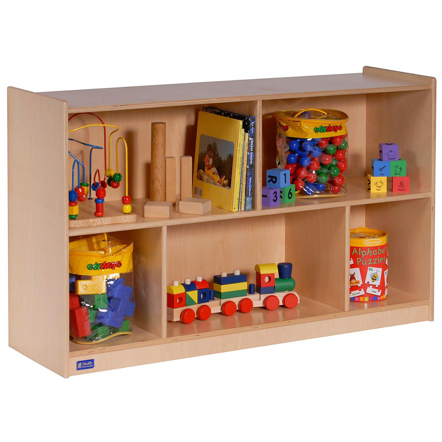 "30""H Single Toy and Block Mobile Storage"
