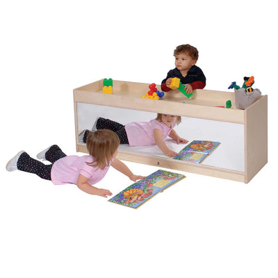 Toddler Storage with Mirror Back