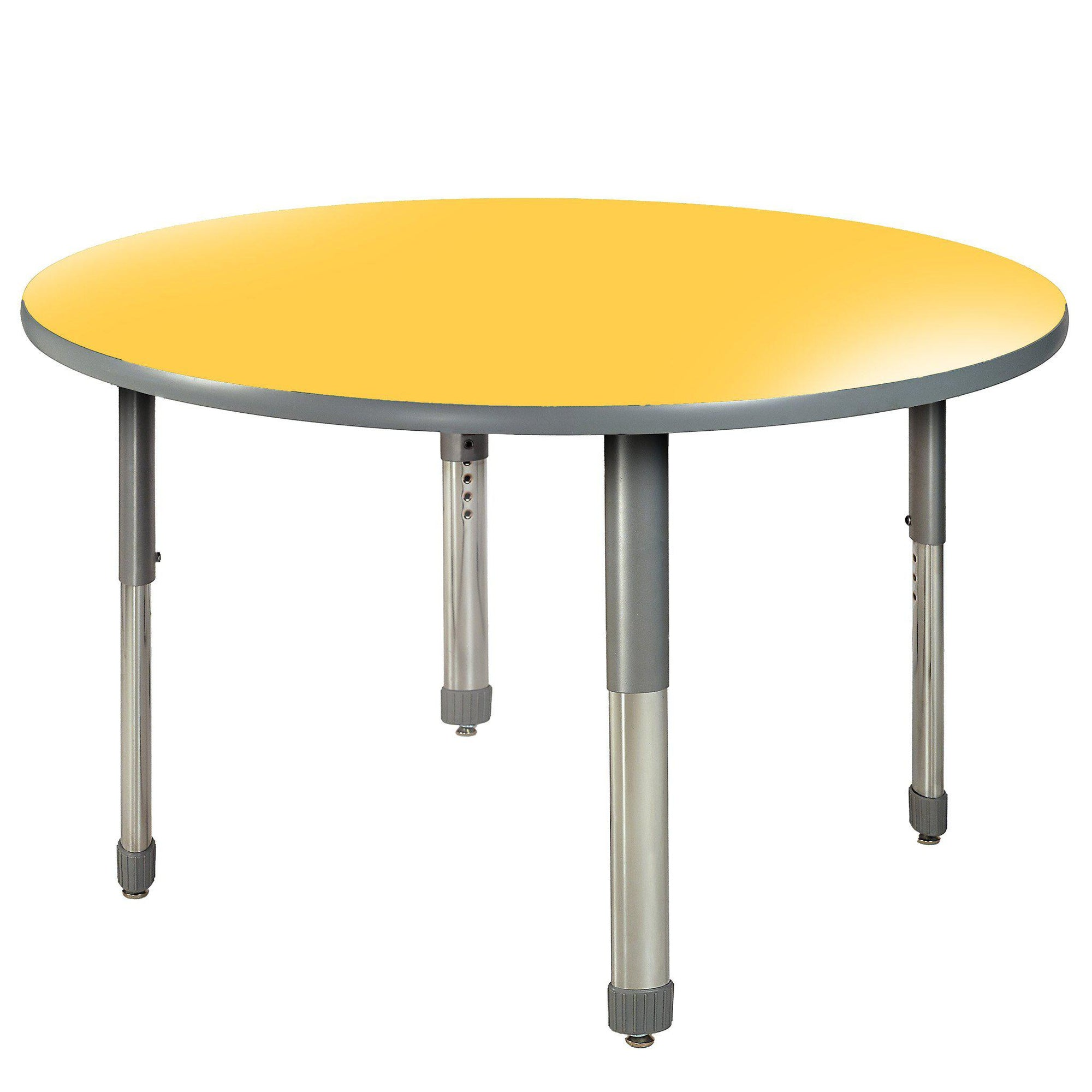"Aero Activity Table, 36"" Circle, Oval Adjustable Height Legs"