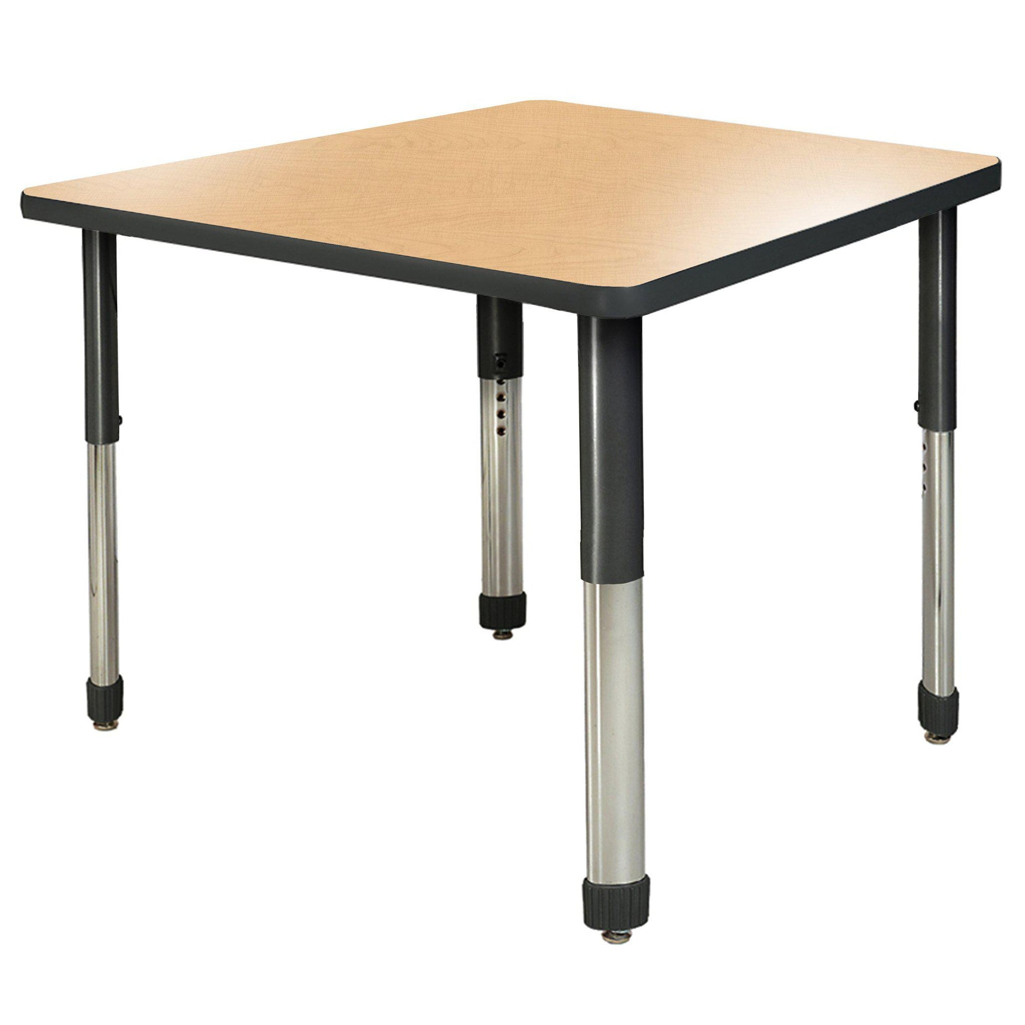 "Aero Activity Table, 48"" x 48"" Square, Oval Adjustable Height Legs"