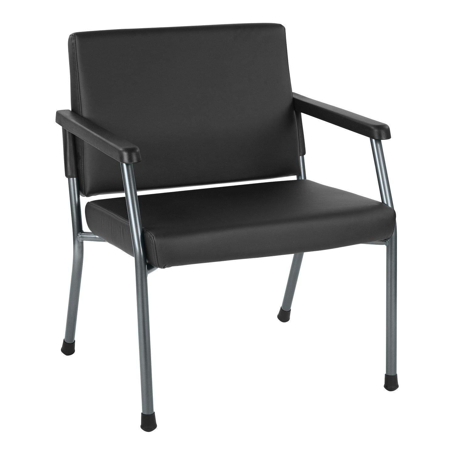 Bariatric Big & Tall Chair with Healthcare Vinyl Upholstery, 400 lb Weight Capacity