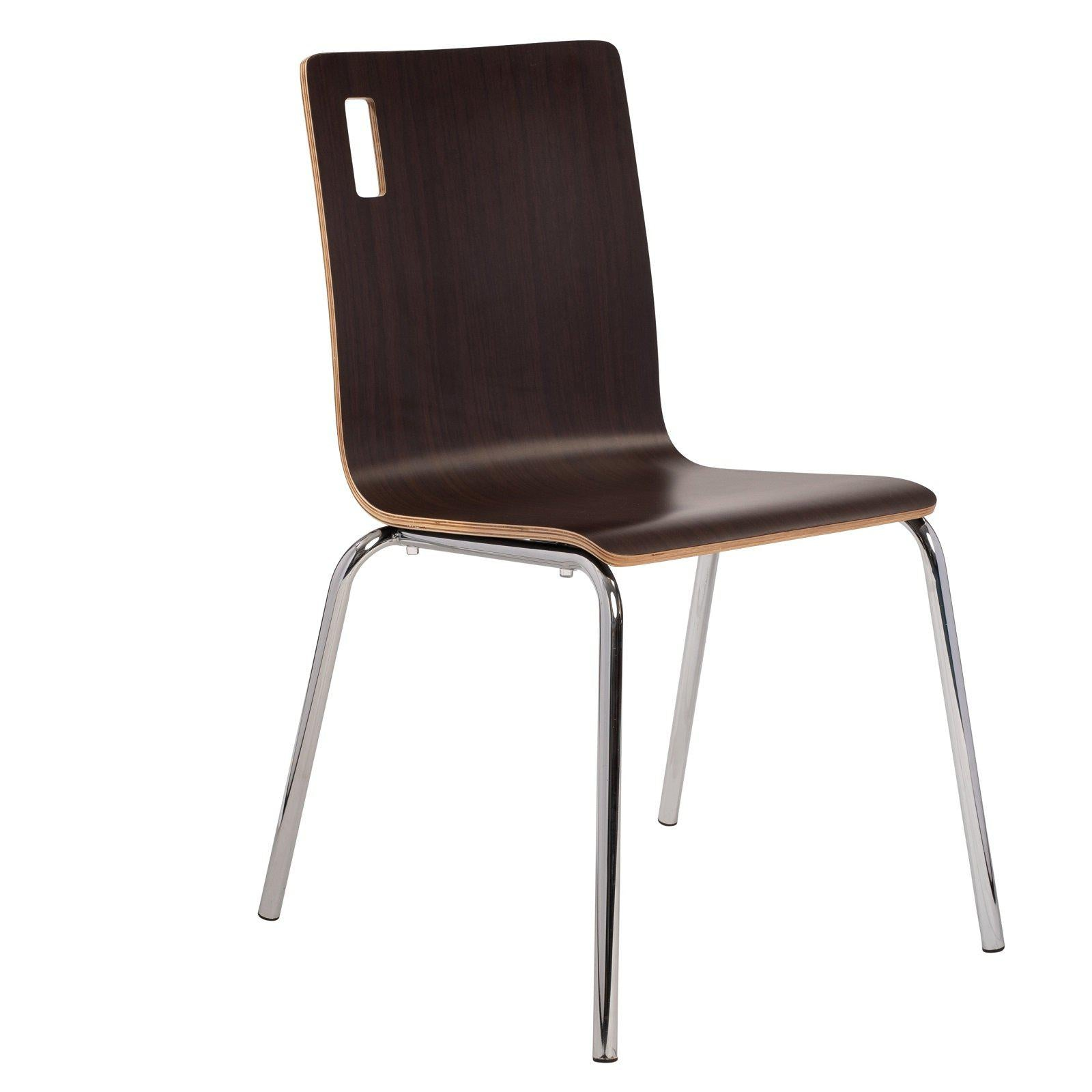 Bushwick Café Chair, Espresso Finish