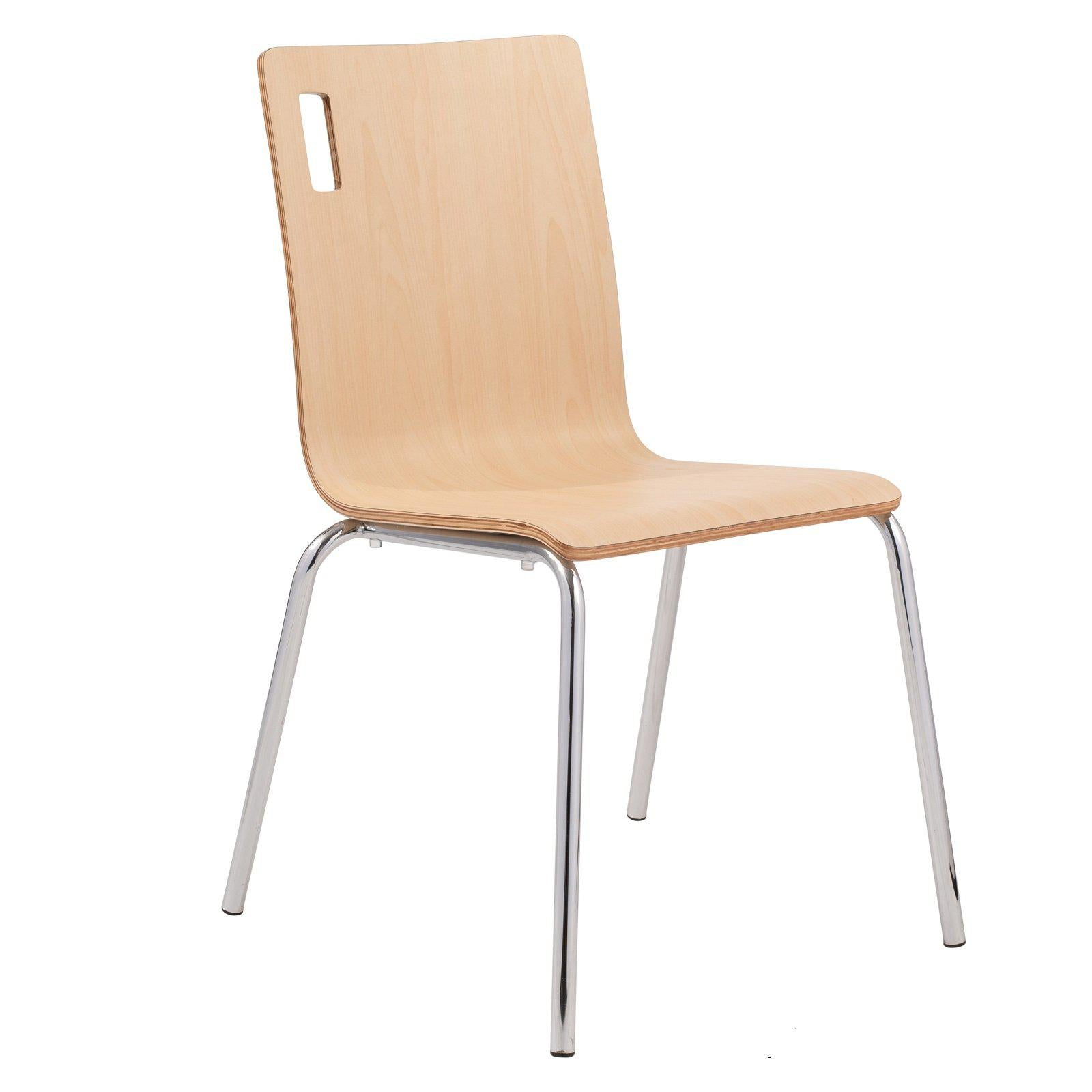 Bushwick Café Chair, Natural Finish