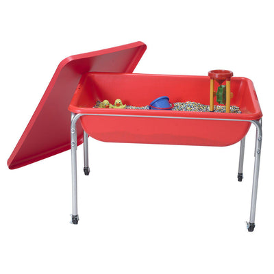 "Large Sensory Table and Lid Set - 24""h"