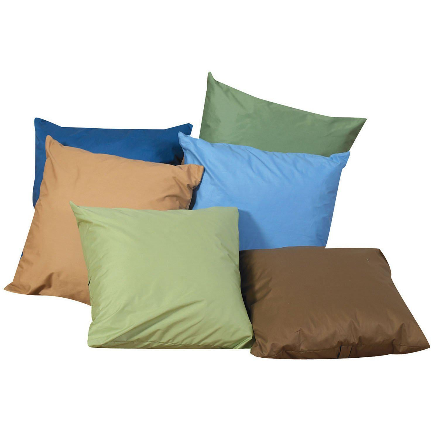 "12"" Cozy Throw Pillows - Woodland Colors- Set of 6"