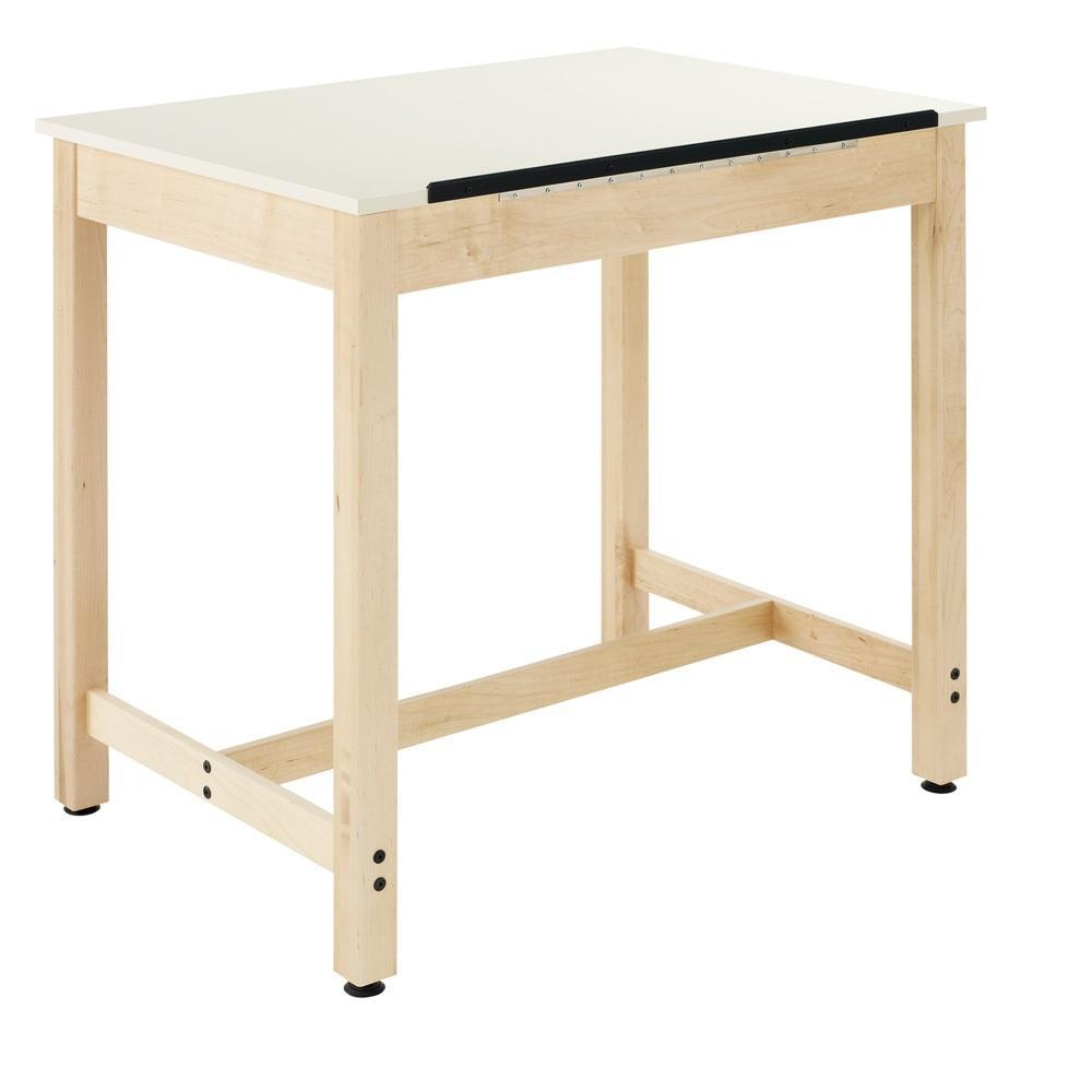 Drawing Table with Basic 1-Piece Top
