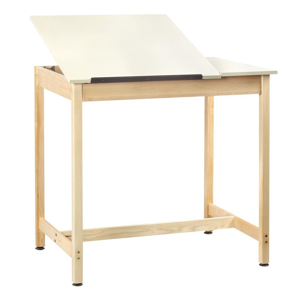 Drawing Table with Basic 2-Piece Top