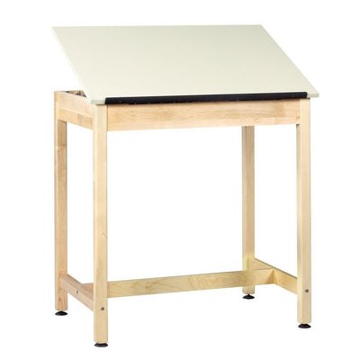 Original Drawing Table with 1-Piece Top