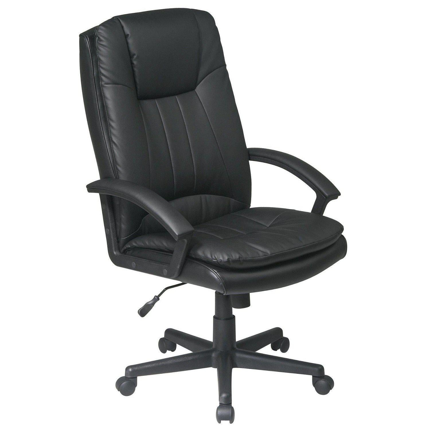Deluxe High Back Bonded Leather Executive Chair