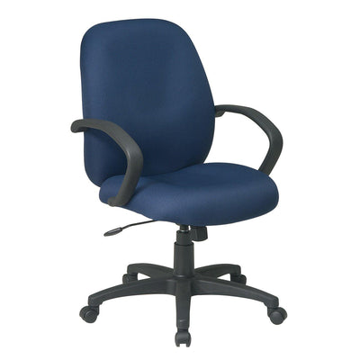 Executive Mid Back Manager's Chair with C-Style Arms