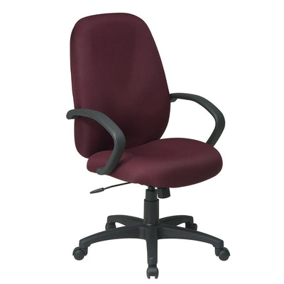 Executive High Back Manager's Chair with C-Style Arms