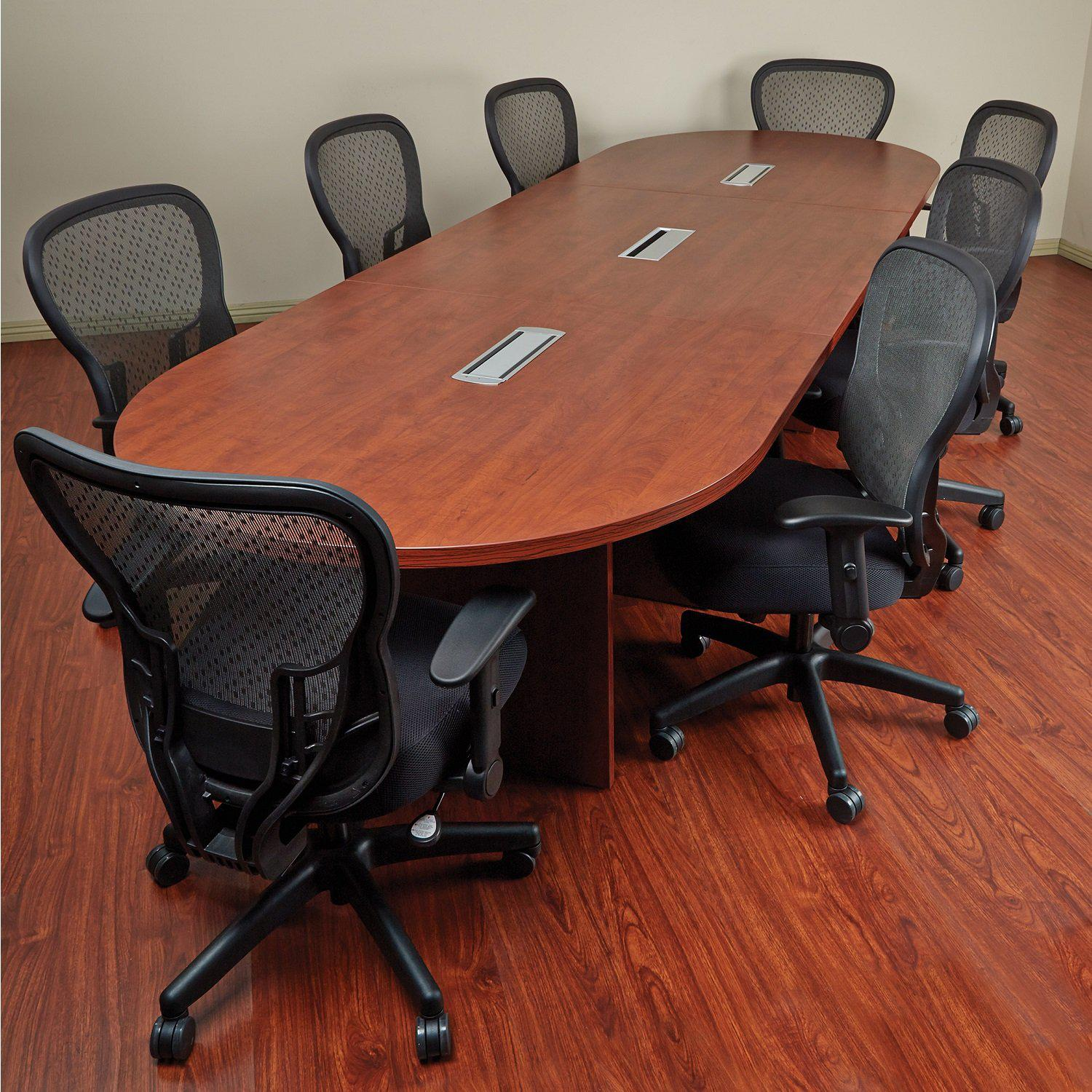 Expandable Racetrack Conference Tables