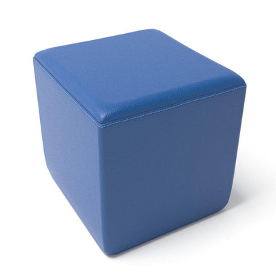 Fomcore Ottoman Series Rectangle with 100% ALL-FOAM CORE, Antibacterial Vinyl Upholstery, LIFETIME WARRANTY