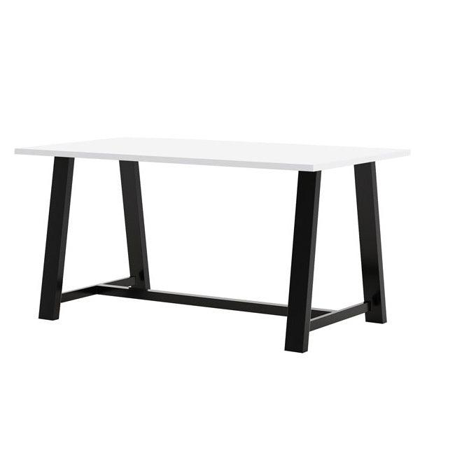 "Midtown Dry Erase Table, Counter Height, 42"" x 120"" x 36""H, High Pressure Laminate Top, 3mm PVC Edge, 96"" Base"