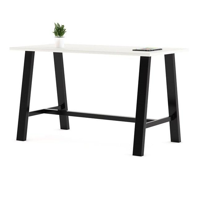 "Midtown Dry Erase Table, Bar Height, 42"" x 96"" x 41""H, High Pressure Laminate Top, 3mm PVC Edge, 72"" Base"