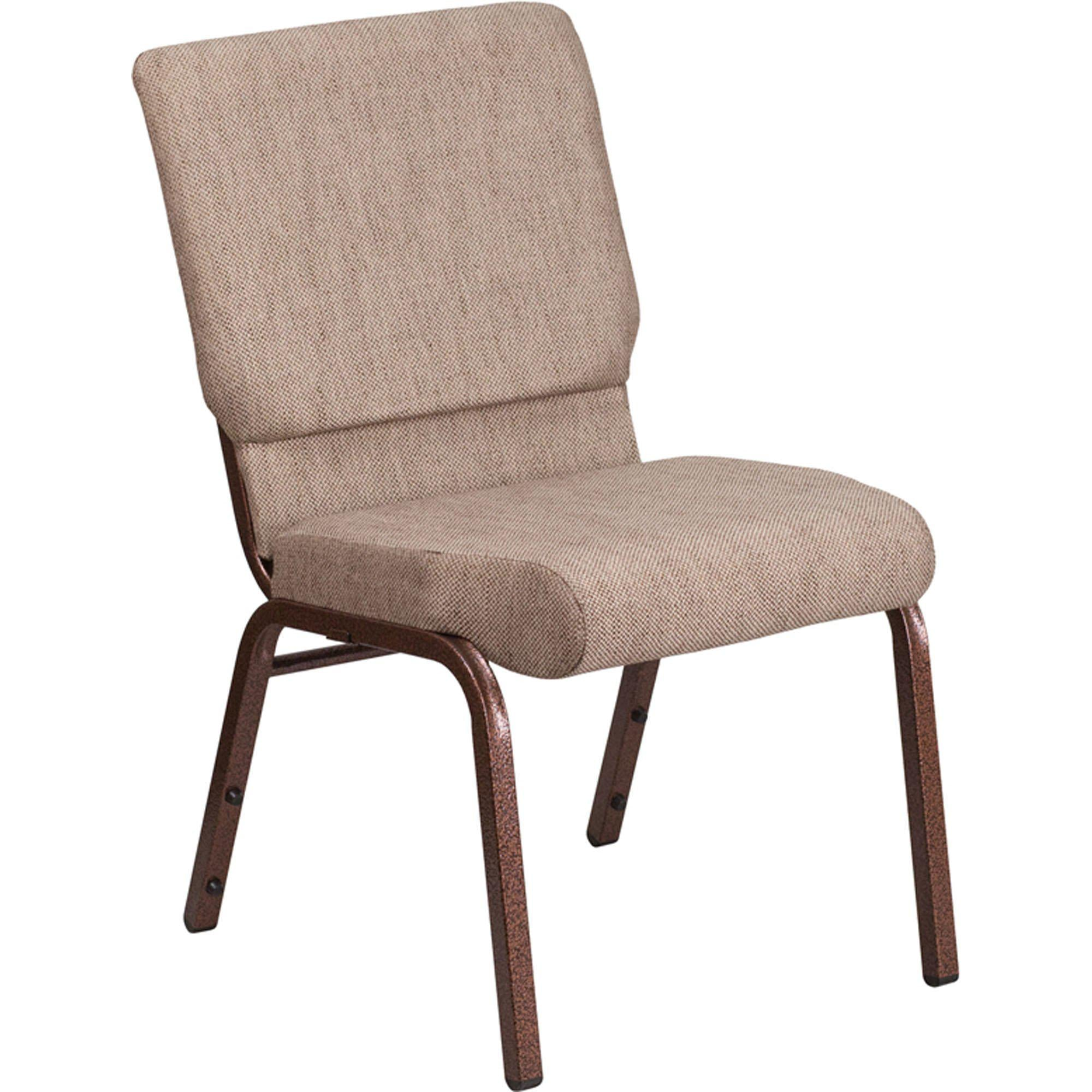 "Nextgen 18-1/2"" Church Stack Chair with 4-1/4""-Thick Seat and Ganging Clamps"