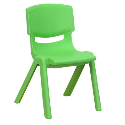"Nextgen Plastic School Stack Chair, 12"" Seat Height"