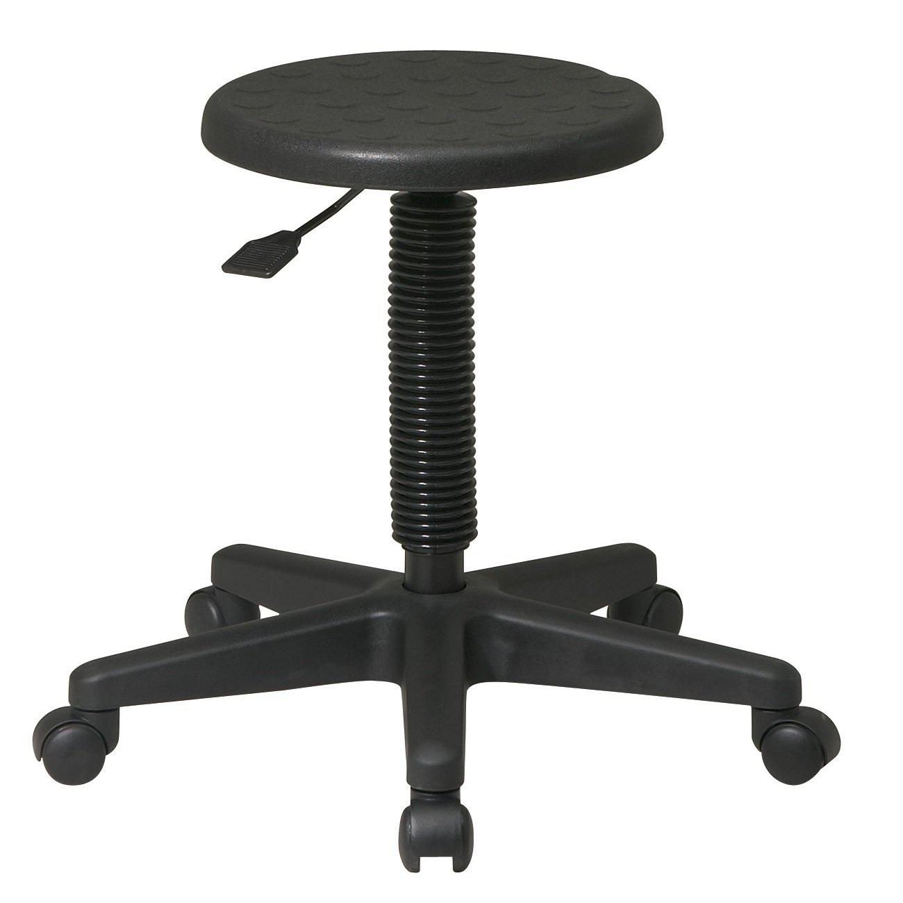 Intermediate Stool with Dual Wheel Casters