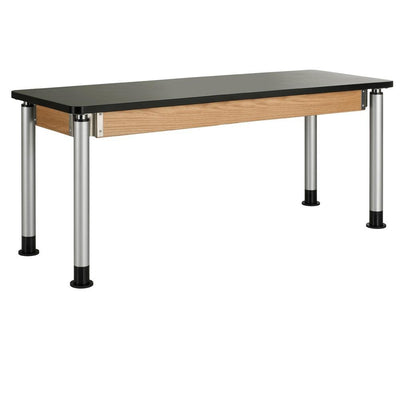 "Adjustable Height Tables with 1-1/4"" Plastic Laminate Top"