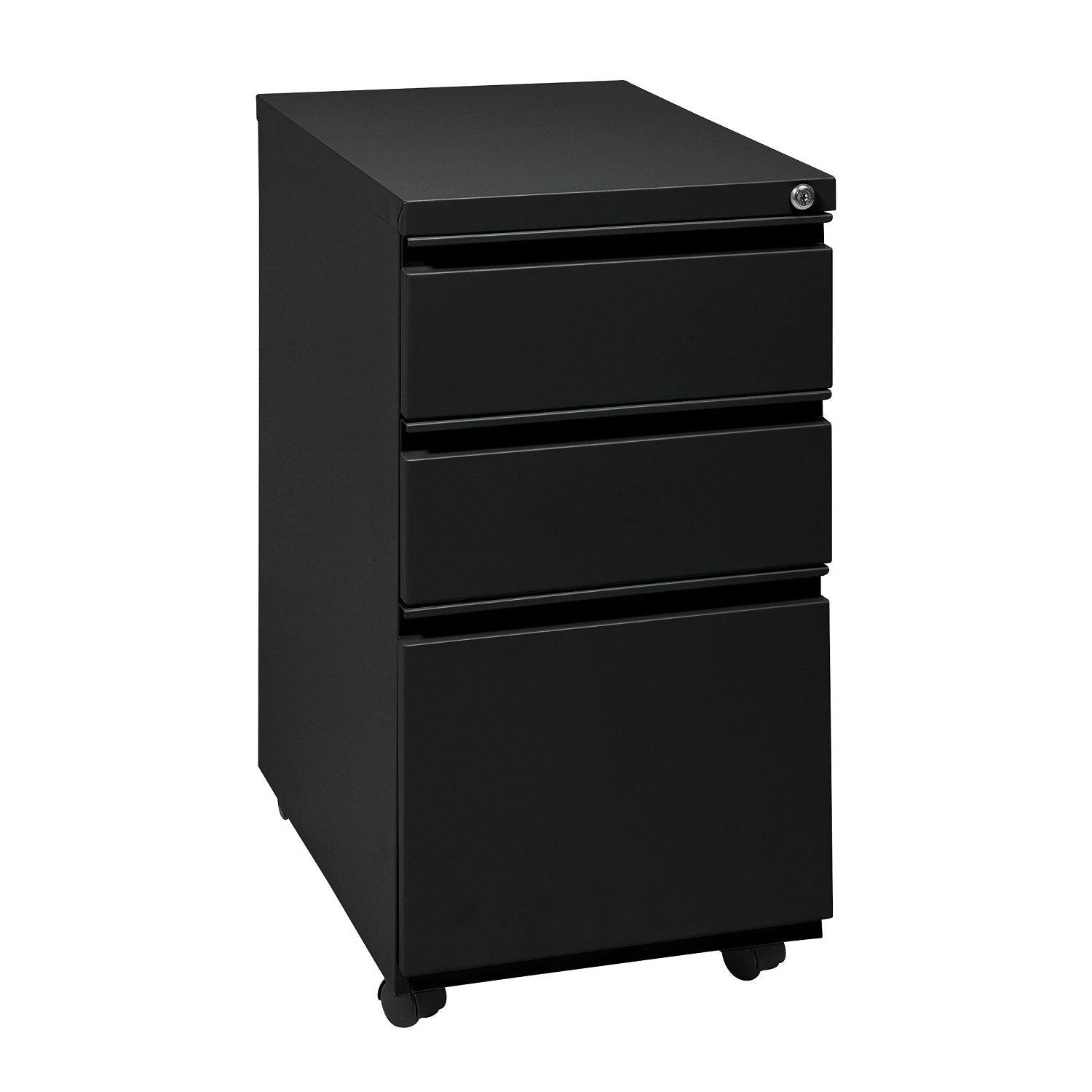 "Heavy Duty 22"" Closed Top Mobile Pedestal, Box/Box/File"