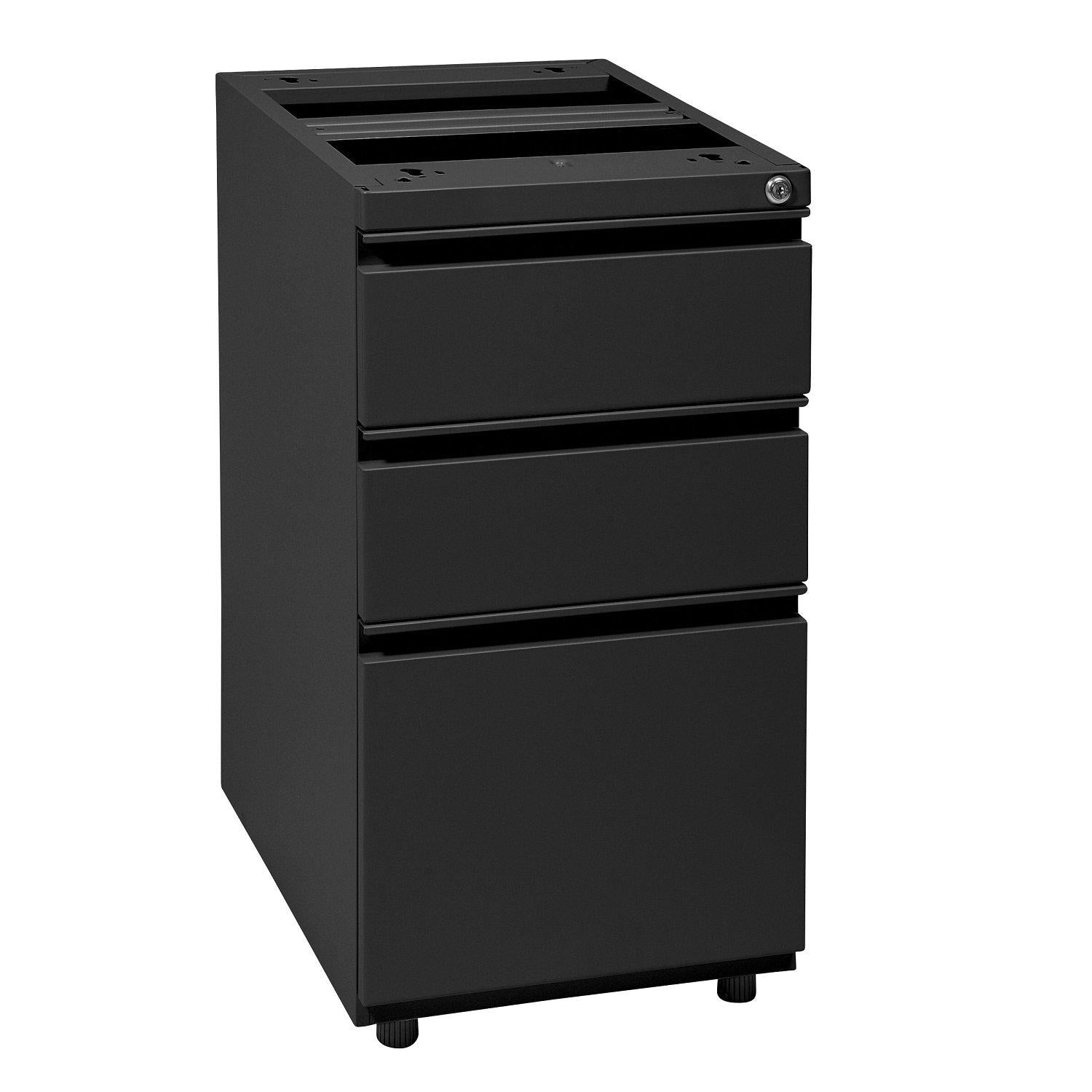 "Heavy Duty 22"" Open Top Pedestal, Box/Box/File"