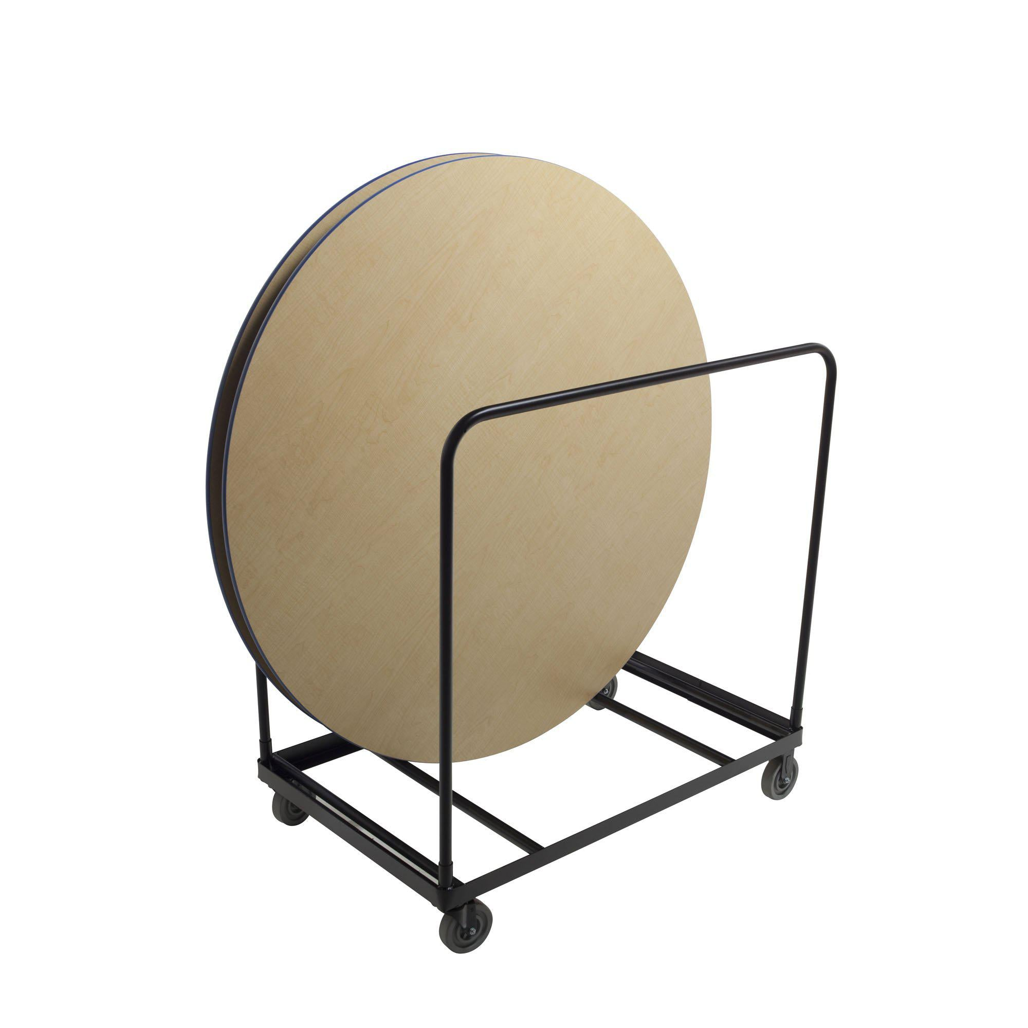 "Heavy-Duty Table Cart for 48/60/72"" Diameter Round Tables"