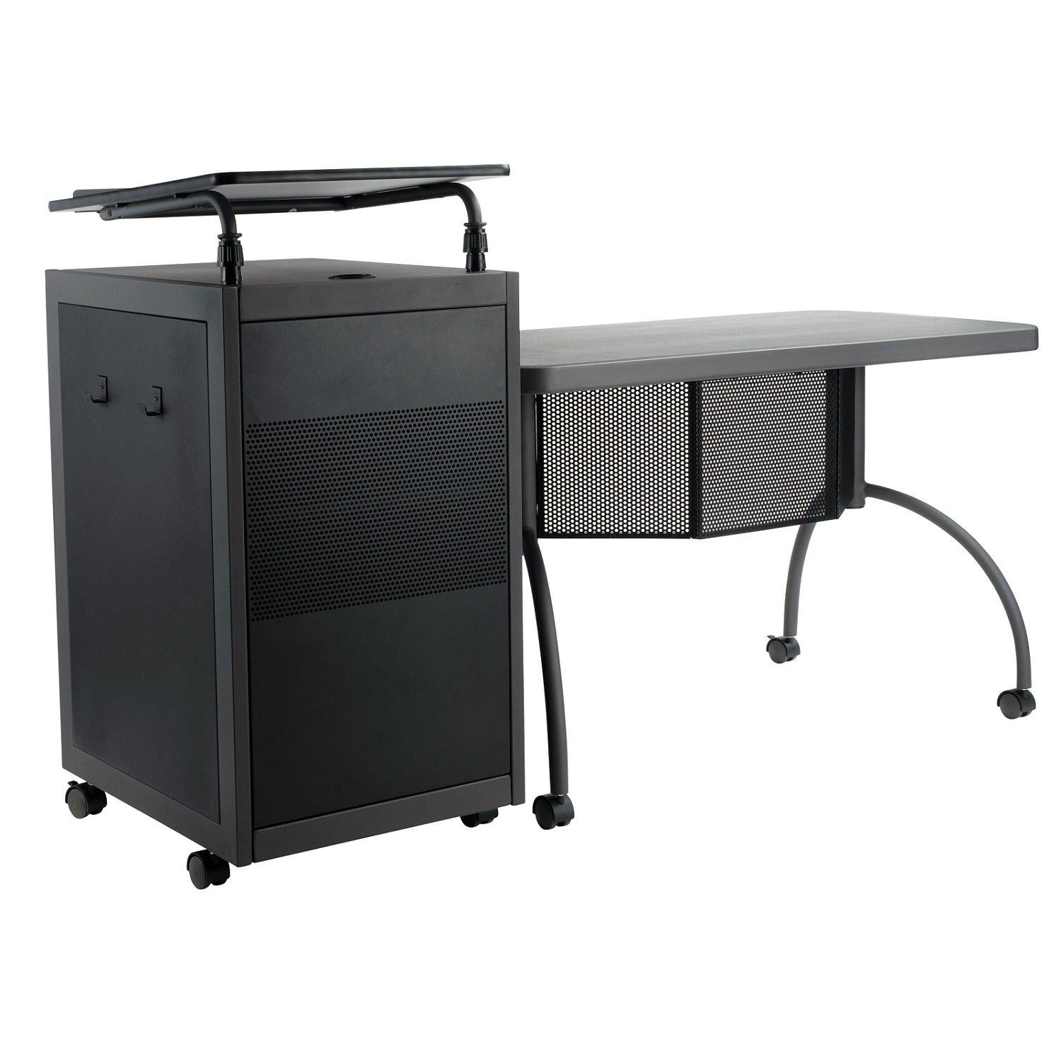 Teacher's WorkPod Desk and Lectern