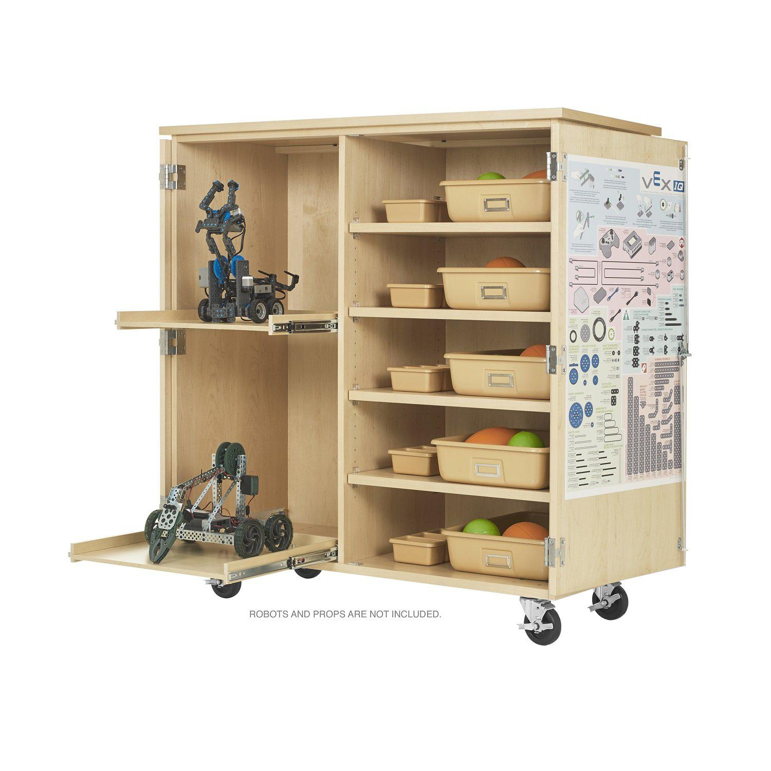 Mobile Robotics Storage Cabinet