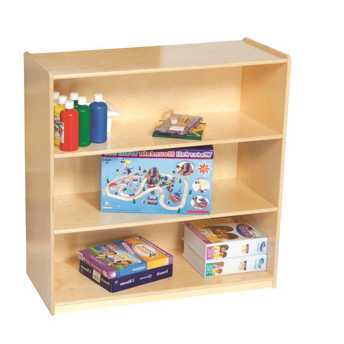 "Wood Designs 3-Shelf Bookshelf, 36-3/4""H"