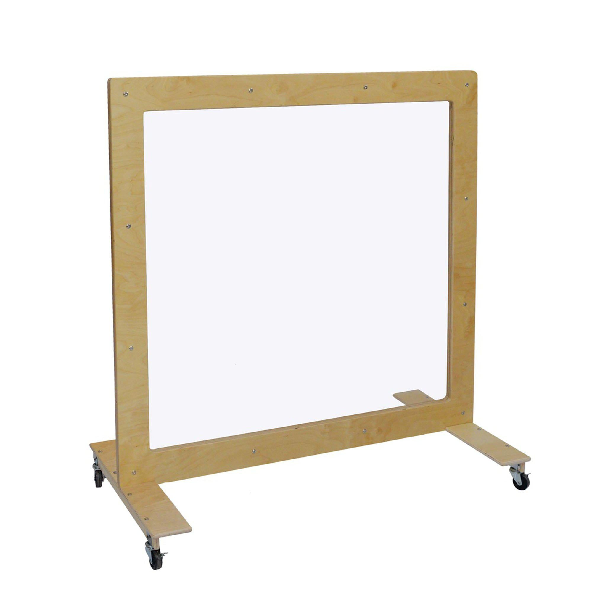 "Mobile See-Thru Room Divider, 48"" x 48"""