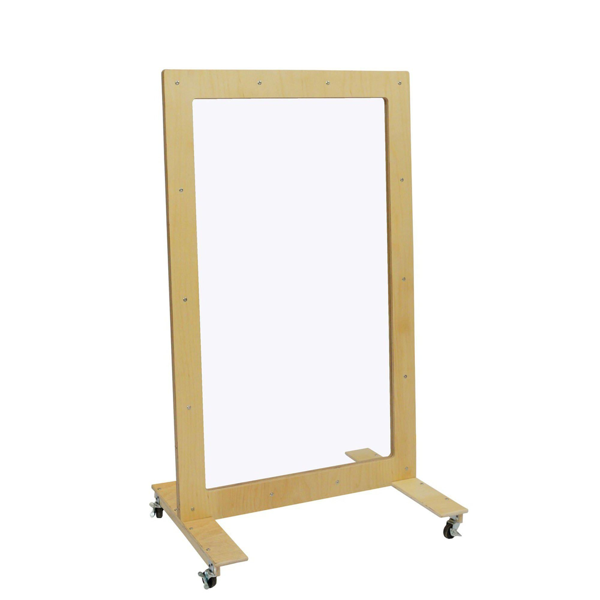 "Mobile See-Thru Room Divider, 60"" x 36"""