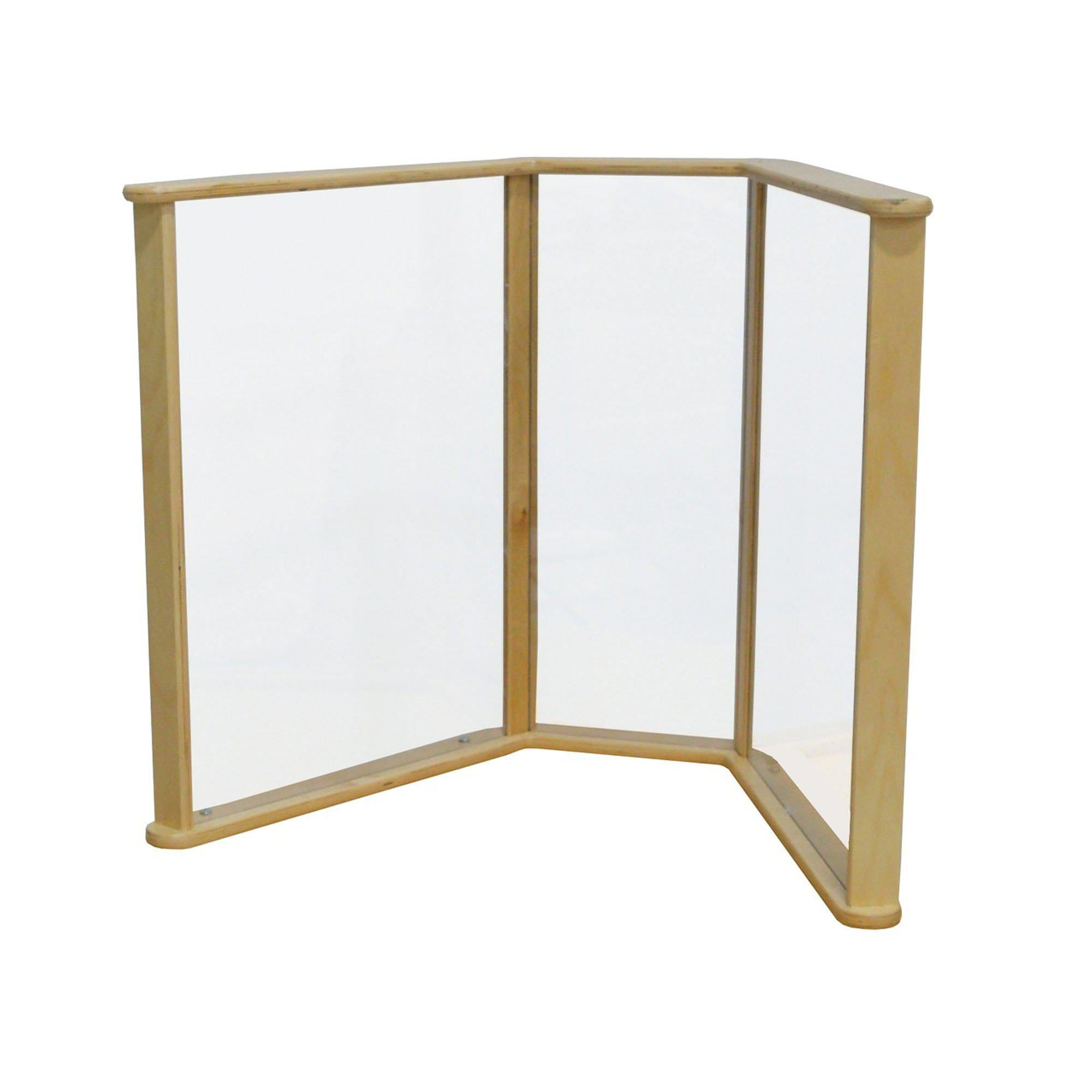 "Sneeze Guard Table Partition, 29"" x 20"""