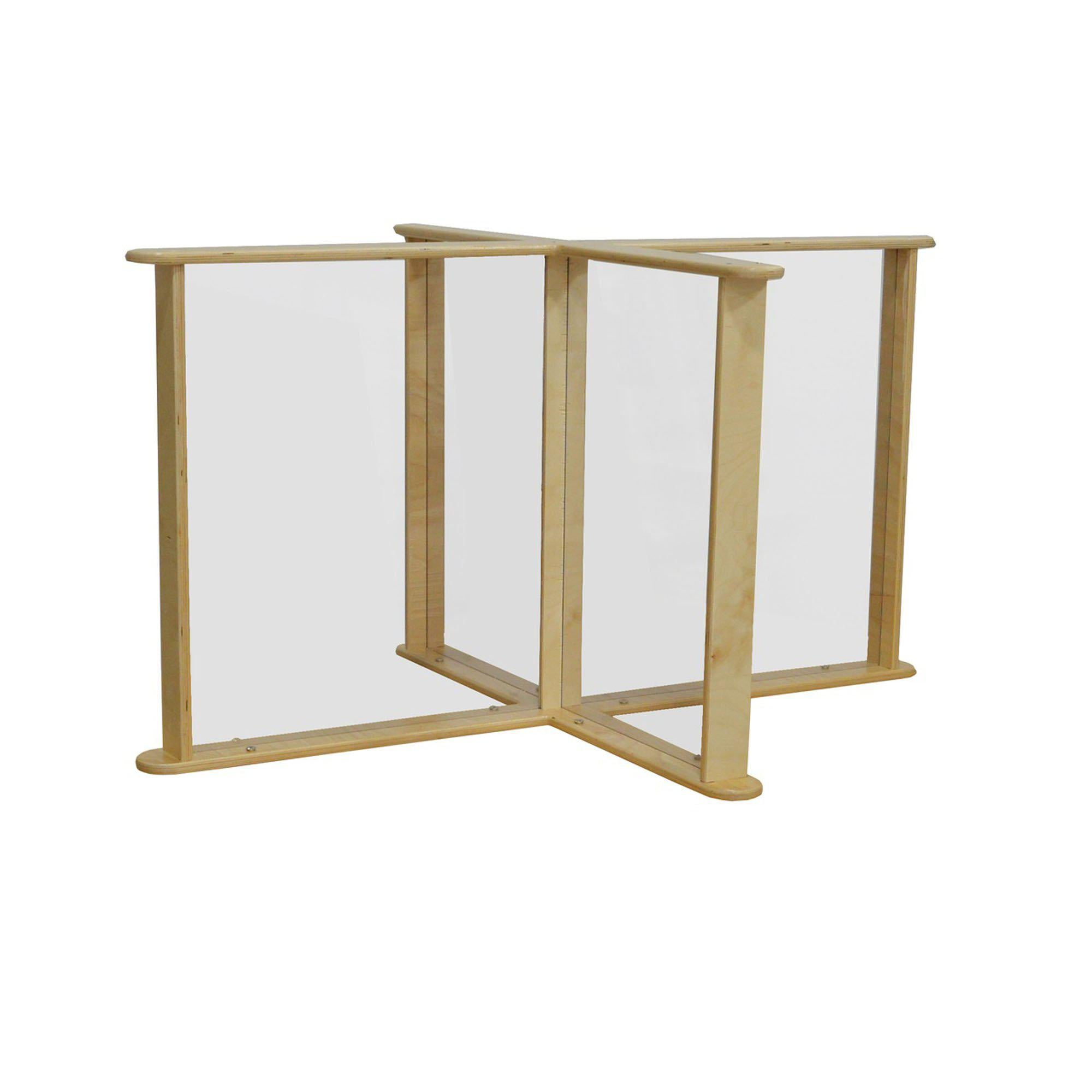 "Sneeze Guard Table Partition, 33.75"" x 45.75"""
