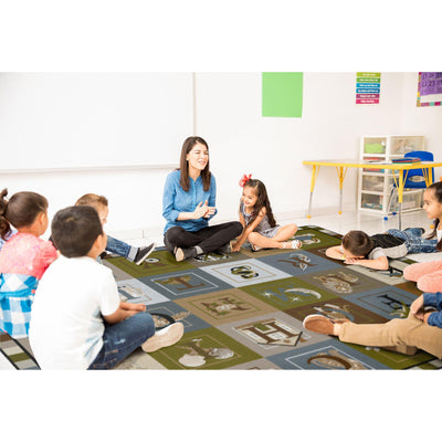 ABC Blocks Rugs-Classroom Rugs & Carpets-