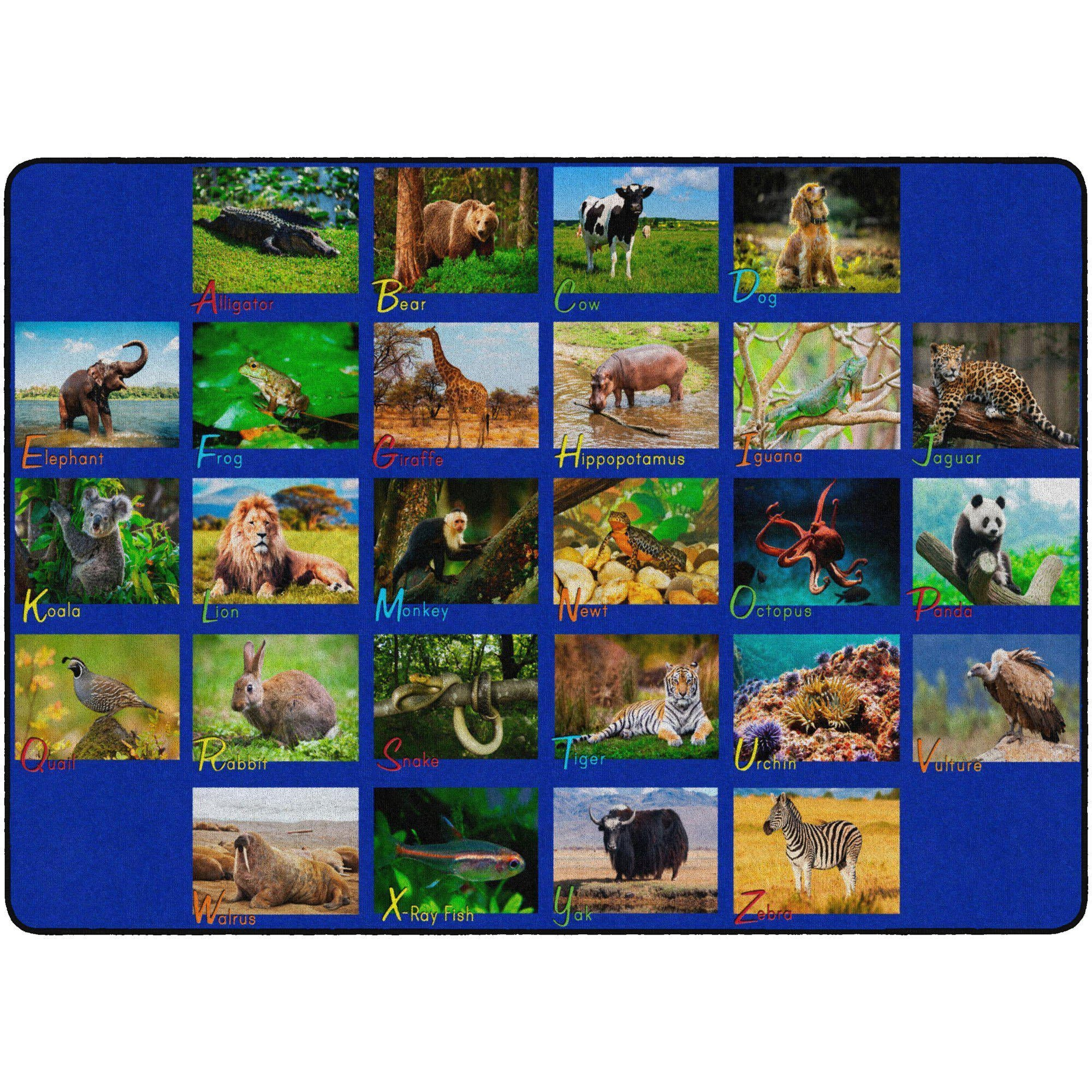 Alphabet Animals Rugs