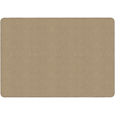 Americolors Solids Rugs-Classroom Rugs & Carpets-Almond-4' x 6' Rectangle-